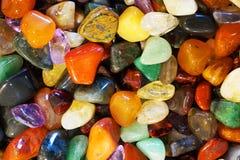 kolorów klejnotów kopaliny kolekcja Zdjęcia Stock