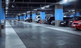 kolorów kontrasta skutka parking metro Zdjęcia Royalty Free