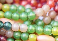 Kolorów koraliki Zdjęcie Royalty Free
