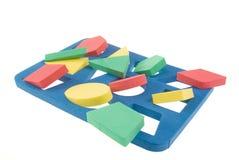 kolorów kształty gemowi geometryczni Zdjęcia Royalty Free