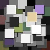 Kolorów kwadratów abstrakta wektor Zdjęcie Royalty Free