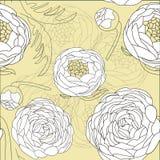 kolorów kwiatów ilustraci wzoru wektor Zdjęcie Stock