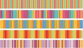 kolorów lampasy Obraz Stock