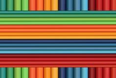 kolorów lampasy Obrazy Stock