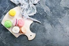Kolorów macaroons Zdjęcie Royalty Free