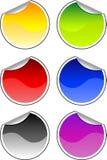Kolorów majchery ilustracja wektor