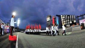 kolorów marszu ndp przyjęcie Fotografia Royalty Free