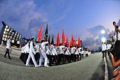 kolorów marszu ndp przyjęcie Obrazy Stock