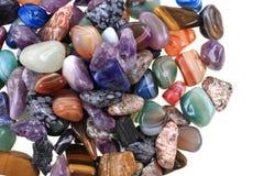 kolorów naturalni kopalni klejnoty zdjęcie royalty free