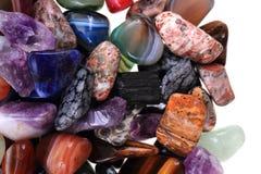 kolorów naturalni kopalni klejnoty obraz royalty free
