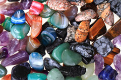 kolorów naturalni kopalni klejnoty obrazy royalty free