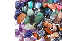 kolorów naturalni kopalni klejnoty zdjęcie stock