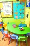 KOLORÓW nauczycieli DESKOWY pokój zdjęcia stock