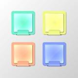 Kolorów notatniki Zdjęcia Stock