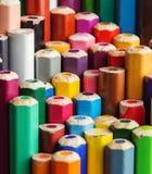 Kolorów ołówków zakończenia fotografia Obraz Royalty Free