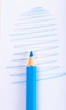 kolorów ołówki, żywy skład Fotografia Royalty Free