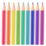 Kolorów ołówki royalty ilustracja