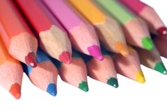 kolorów ołówki Obraz Royalty Free