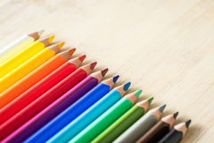 Kolorów ołówki fotografia stock