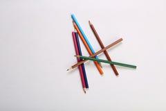 Kolorów ołówki Obraz Stock