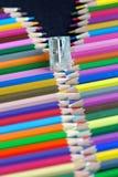 Kolorów ołówki dalej Obraz Stock