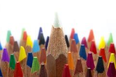 Kolorów ołówki makro- Fotografia Royalty Free