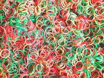 Kolorów pierścionki zdjęcia royalty free