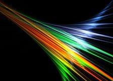 kolorów promienie Fotografia Stock