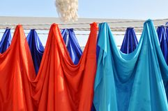 Kolorów ręczniki Obraz Stock