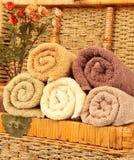 kolorów ręczniki Zdjęcie Stock