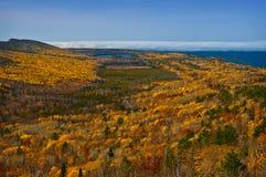kolorów spadek Michigan widok górski Zdjęcie Royalty Free