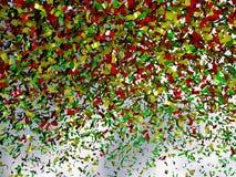 kolorów streamers Obraz Stock
