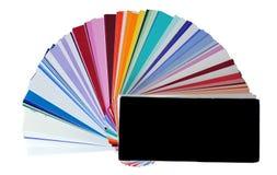 kolorów swatches Obrazy Stock
