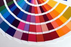 kolorów swatches Fotografia Stock