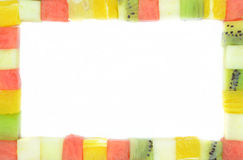 Kolorów sześciany owoc Zdjęcie Royalty Free