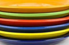 Kolorów talerze Obraz Stock