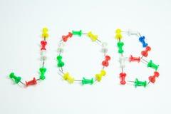 Kolorów Thumbtacks Obraz Royalty Free