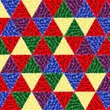 Kolorów trójboki Fotografia Royalty Free