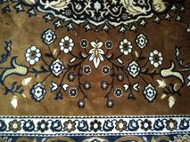 Kolorów wzory na dywanach zdjęcia royalty free