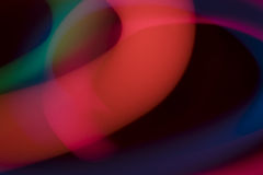 kolor światła abstrakcyjne Fotografia Stock