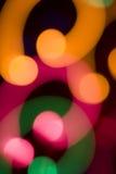 kolor światła abstrakcyjne Zdjęcie Royalty Free