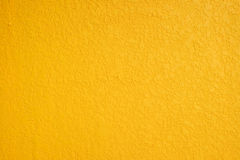 Kolor żółty ściana Zdjęcie Royalty Free