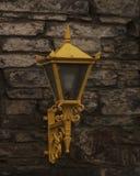 Kolor żółty ściany światło Zdjęcie Royalty Free