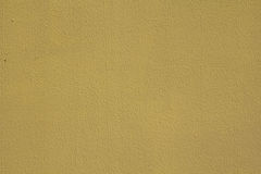 Kolor żółty ścienna tekstura Fotografia Stock