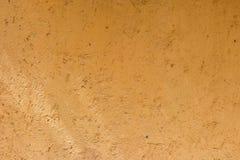 Kolor żółty ścienna tekstura Zdjęcie Royalty Free