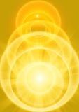 Kolor żółty światło Fotografia Stock