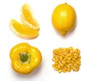Kolor żółty obrazy royalty free