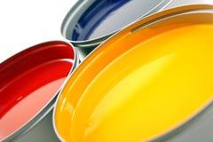 kolor żółty atramentów magenta prasy drukowy kolor żółty Fotografia Royalty Free