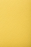 Kolor żółty embossed skóry tekstury tło Zdjęcie Royalty Free