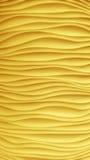 Kolor żółty fala struktura Zdjęcie Royalty Free